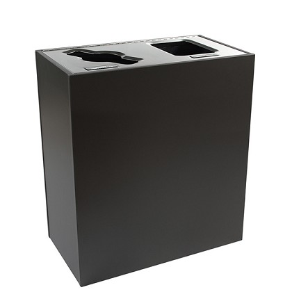 Aristata Series Double Stream Recycling Container - Tier II