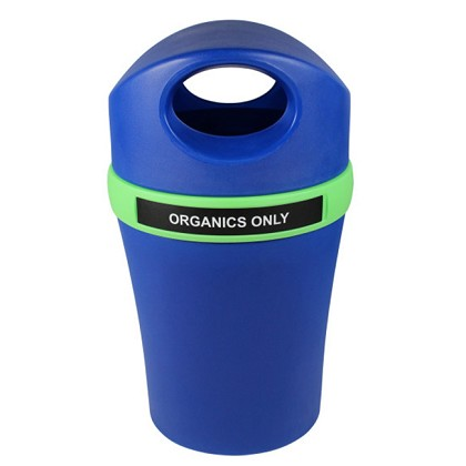 Infinite Elite Recycling and Waste Container with Canopy Top