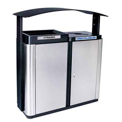 Echelon Canopy Outdoor 2-Stream Recycling Station