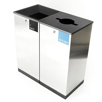 Edge Two-Stream Recycling & Waste Station