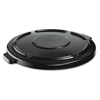 Vented Round Brute Flat Top Lid for 44-Gallon Container