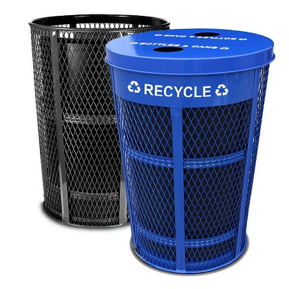Expanded Metal Recycling & Waste Combo