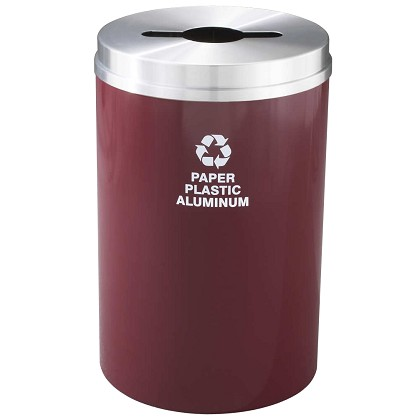 Glaro 33 Gallon Single Purpose Waste and Recycling Container