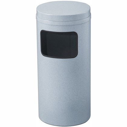 Mount Everest Waste Receptacle with Flat Top, 10 Gal