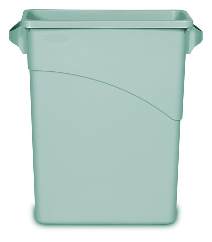 Slim Jim Waste Container with Handles