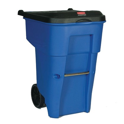 95-Gallon BRUTE Rollout Recycling Container