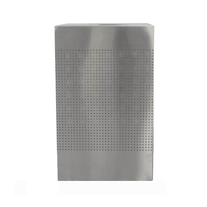 Celestial Square 40-gallon Stainless Steel Waste Can
