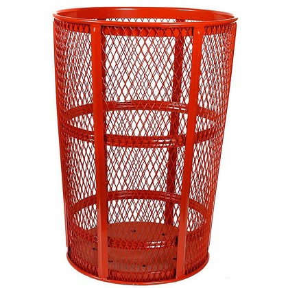 Outdoor Expanded Metal Waste | RED